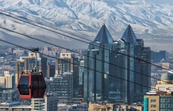 Такси из Бишкека в Алматы и обратно.